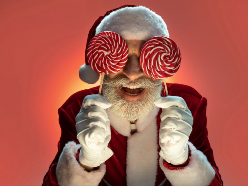 Probability Puzzles with a Crazy Santa Claus