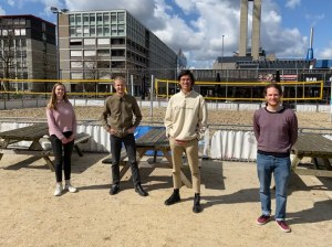 Team VU Amsterdam with PhD students Quint Wiersma and Mariia Artemova second in the Econometric Game 2021