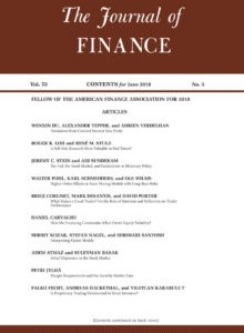 Rankings and Risk-Taking in the Finance Industry